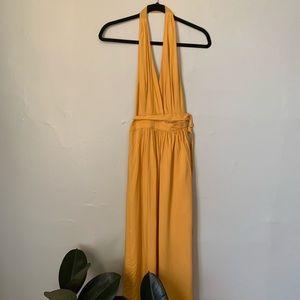 Lulus wrap halter dress NEW!